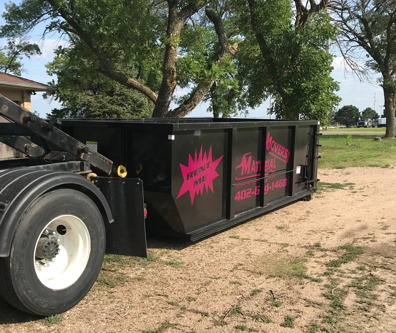 We offer commercial dumpster rental services